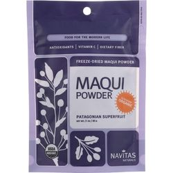 Category: Dropship Botanicals And Herbs, SKU #1274182, Title: Navitas Naturals Maqui Powder - Organic - Freeze-Dried - 3 oz - case of 6