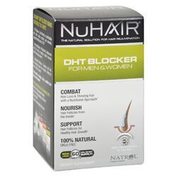 NuHair DHT Blocker for Men and Women - 60 Tablets