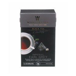 Wissotzky Tea - Imperial Earl Grey - Case of 6 - 16 BAG