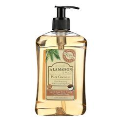 A La Maison - French Liquid Soap - Coconut - 16.9 oz