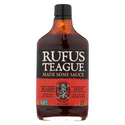Rufus Teague - BBQ Sauce - Blazin Hot - Case of 6 - 16 oz.