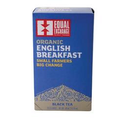 Equal Exchange Organic Black Tea English Breakfast - English Breakfast - Case of 6 - 20 Bags