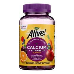Nature's Way - Alive! Calcium plus D3 Gummies - 60 Gummies