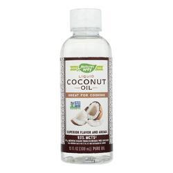 Nature's Way - Liquid Coconut Oil - 10 oz