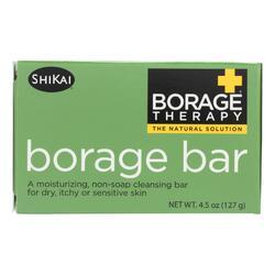 Shikai Products Cleansing Bar - Non Soap - Borage - 4.5 oz