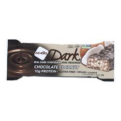 Nugo Nutrition Bar - Nugo Dark - Chocolate Coconut - 1.76 oz - 1 Case