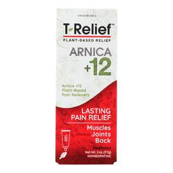 T-Relief - Pain Relief Gel - Arnica plus 12 Natural Ingredients - 1.76 oz
