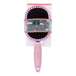 Earth Therapeutics Hair Brush - Paddle - Silicon - Pink - 1 Count