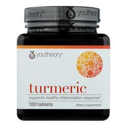 Youtheory Turmeric - Advanced Formula - 120 Tablets