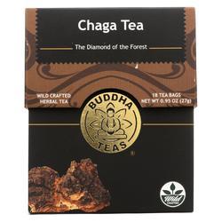 Buddha Teas -Tea - Chaga Tea - Case of 6 - 18 Bag