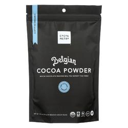 Cocoa Metro Organic Cocoa Powder - Belgian - Case of 6 - 10 oz.