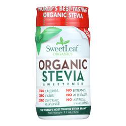 Sweet Leaf Sweetener - Organic - Stevia - 3.2 oz