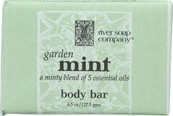 River Soap Company Bar Soap - Garden Mint - 4.5 oz