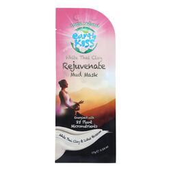 Earth Kiss White Thai Clay Rejuvenate Mud Mask - Case of 12 - 0.59 oz.