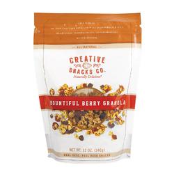Creative Snacks Granola - Bountiful Berry - Case of 6 - 12 oz