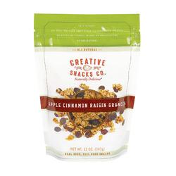 Creative Snacks Granola - Apple Cinnamon - Case of 6 - 12 oz