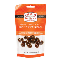 Creative Snacks Espresso Beans - Case of 6 - 3.5 oz