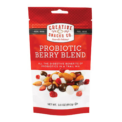 Creative Snacks Snack Probiotic Berry Blend - Case of 6 - 3.5 oz