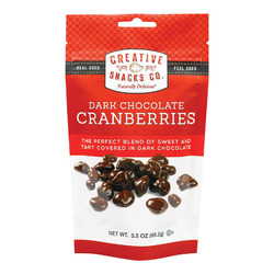 Creative Snacks Cranberries - Case of 6 - 3.5 oz