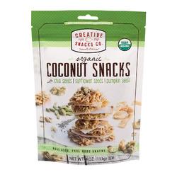 Creative Snacks Super Seeds - Nag Coconut - Case of 12 - 4 oz