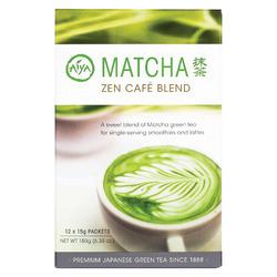 Aiya Tea - Stick - Matcha Zen Cafe - Case of 8 - 12 count