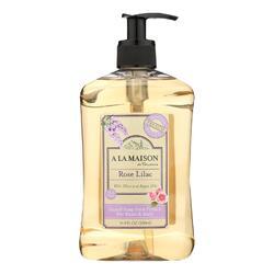 A La Maison - Liquid Hand Soap - Rose Lilac - 16.9 fl oz.