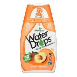 Sweet Leaf Water Drops - Peach Mango - 1.62 fl oz