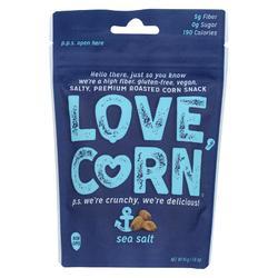 Love Corn - Roasted Corn Sea Salt - Case of 10 - 1.6 OZ