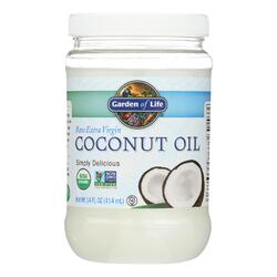 Garden of Life Organic Coconut Oil - Raw Extra Virgin - Case of 6 - 14 fl oz