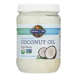 Garden of Life Oil Coconut - Organic - Raw Extra Virgin - Case of 4 - 29 fl oz