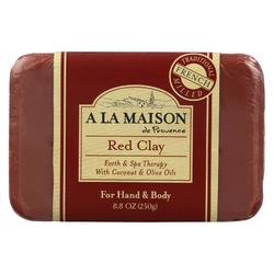 A La Maison - Bar Soap - Red Clay - 8.8 Oz