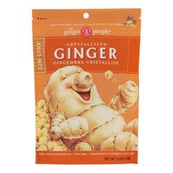 Ginger People - Crystallized Ginger - Case of 12 - 3.5 oz.
