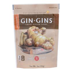 Ginger People - Gin Gins Chewy Ginger Candy - Hot Coffee - Case of 12 - 3 oz.