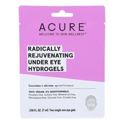 Acure - Under Eye Mask - Radically Rejuvenating Hydrogel - Case of 12 - 1 Each