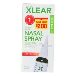 Xlear - Nasal Spray Sinus - 1.5 FZ