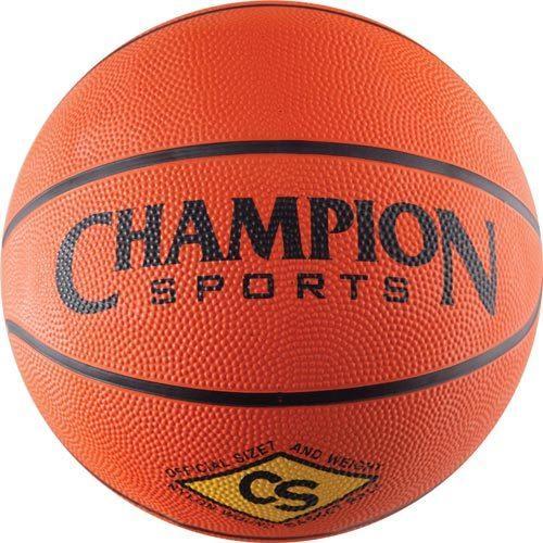 Champion Sports Rubber Basketball - Intermediate