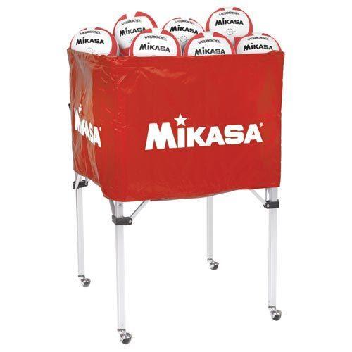 Mikasa Folding Ball Cart - Red