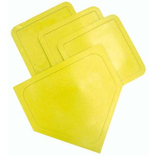 Poly Baseball Bases - Yellow