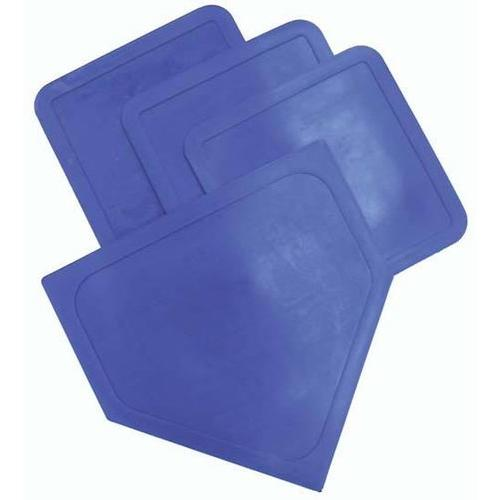 Poly Baseball Bases - Blue
