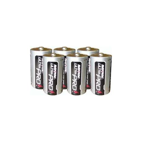 C Alkaline Batteries - 6 Pack