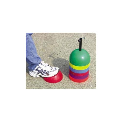 Set of 36 Soft Dome Cones