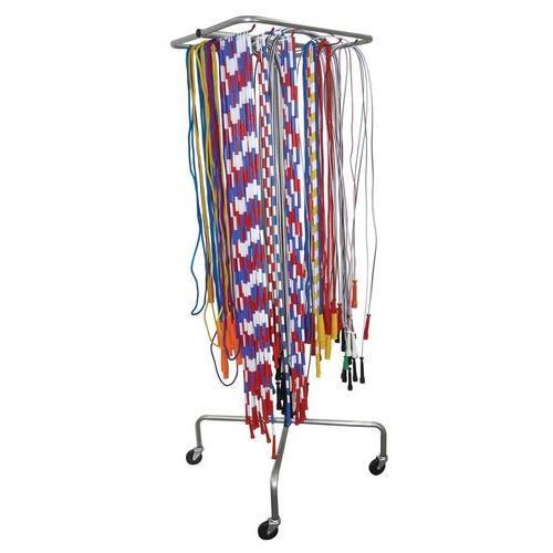 Jump Rope Rack w/ Wheels