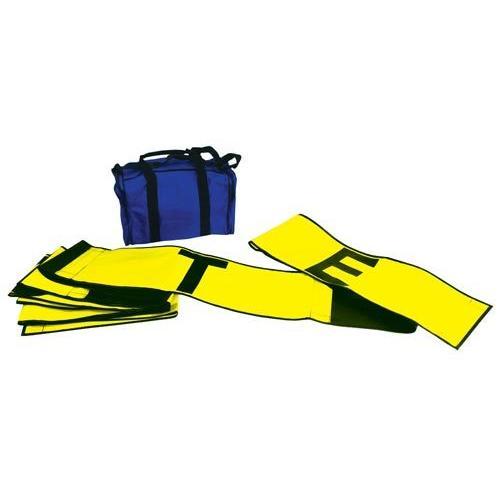 Line Split Strip - Yellow/Black