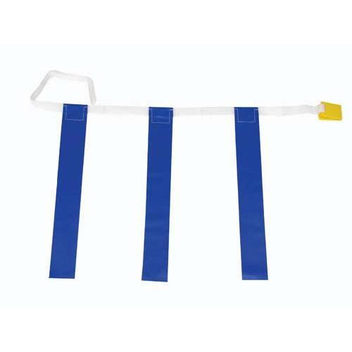 "25""-31"" Three-Flag Belts - Blue"
