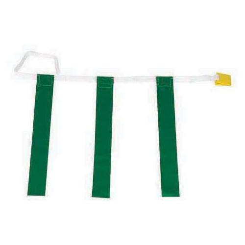 "25""-31"" Three-Flag Belts - Green"
