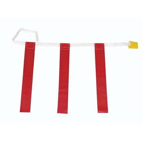 "32""-39"" Three-Flag Belts - Red"