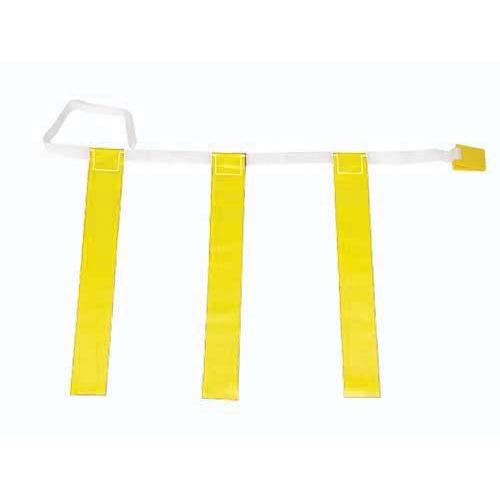 "32""-39"" Three-Flag Belts - Yellow"