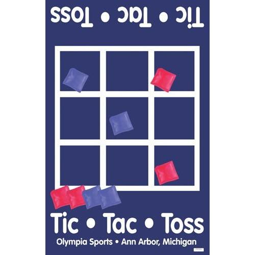 Tic-Tac-Toss Bean Bag Game