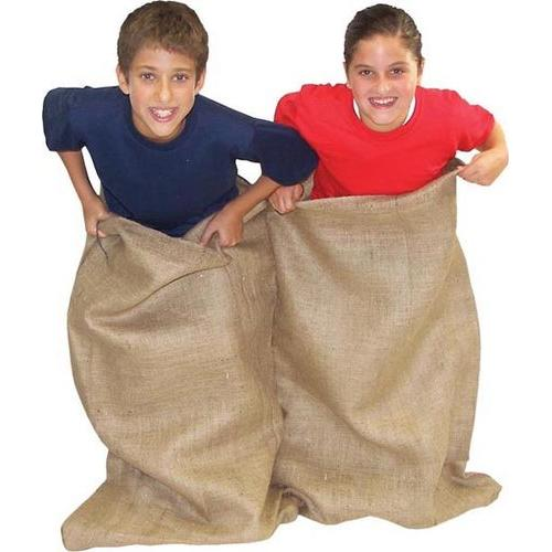 Double Burlap Potato Sack