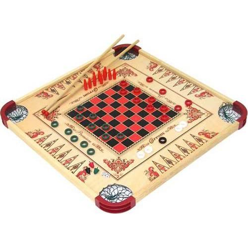 Reversible Multi-Game Board
